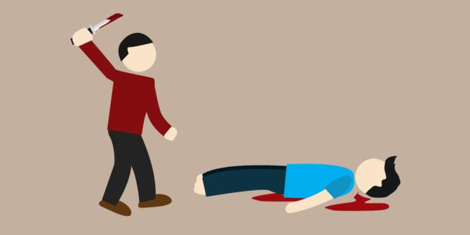 Sakit Hati Istri Diperkosa Seorang Pria Nekat Bunuh Tetangga