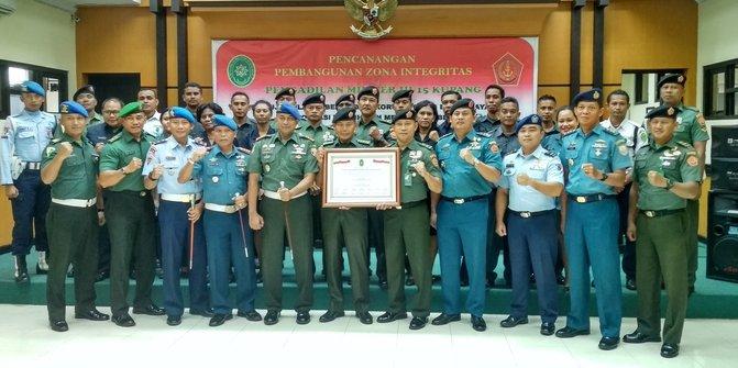 TNI Canangkan Pembangunan Zona Integritas Di PM Kupang