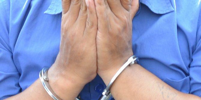 Terekam CCTV Pencuri Kotak Amal Ditangkap Polisi