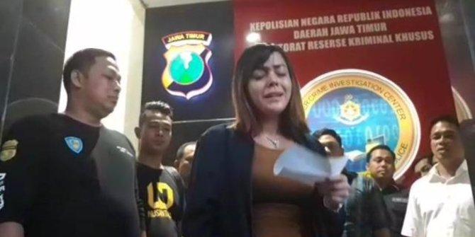 Terlibat Prostitusi Avriellia Shaqqila Mengucapkan Permintaan Maaf