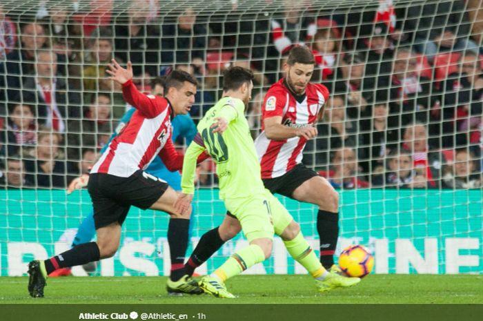 Barcelona Gagal Kalahkan 10 Pemain Bilbao