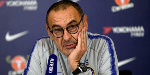Sarri Heran Chelsea Bisa Kebobolan 6 Gol