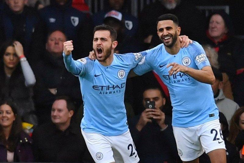 Bournemouth Dikalahkan Manchester City Berkat Riyad Mahrez