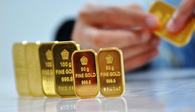 Emas Antam Meningkat Katimbang Produk Global