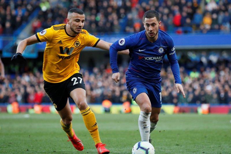 Hazard Selamatkan Chelsea dari Kekalahan Hadapi Wolverhampton