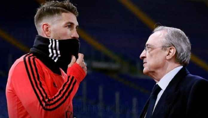 Juventus BIdik Sergio Ramos dari Real Madrid