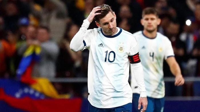 Kembalinya Messi Tidak Membuat Argentina Bisa Kalahkan Venezuela