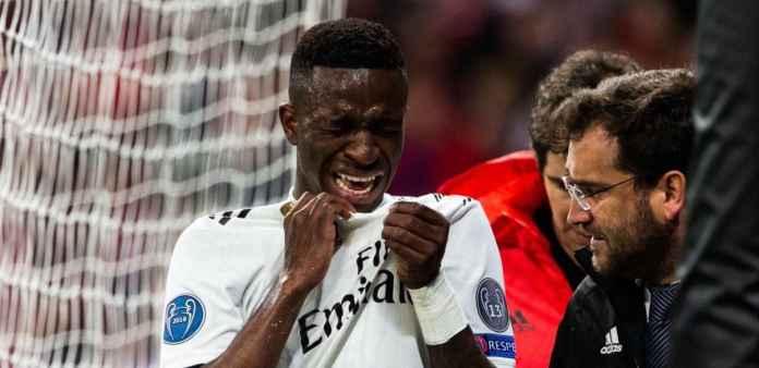 Kesialan Real Madrid Ditambah dengan Vinicius Alami Cedera Serius