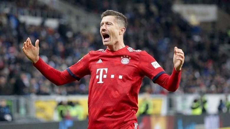 Lewandowski Kesal Bayern Tersingkir dari Liga Champions oleh Liverpool
