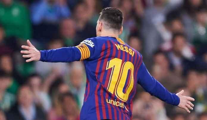 Lionel Messi Cetak Hattrick saat Hadapi Real Betis