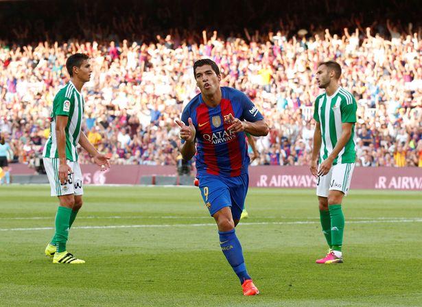 Luis Suarez Ciptakan Gol Indah di Pertandingan Menghadapi Real Betis