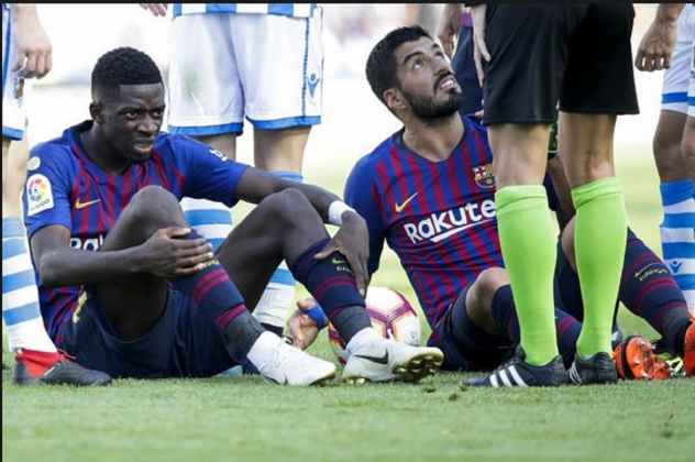 Luis Suarez dan Ousmane Dembele Absen Perkuat Barcelona Melawan Espanyol