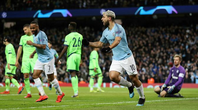 Manchester City Lolos ke Perempatfinal Liga Champions Usai Bantai Schalke
