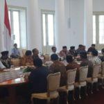 Presiden RI Menerima Pengurus FBR di Istana Bogor