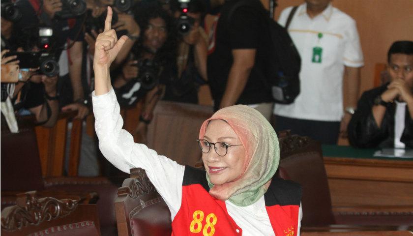 Ratna Sarumpaet Memohon Kasusnya Tidak Dihubungkan dengan Politik Terus