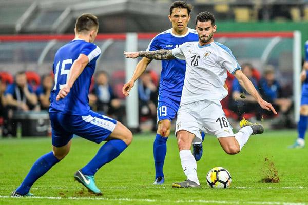 Uruguay Bakal Hadapi Thailand di Final China Cup