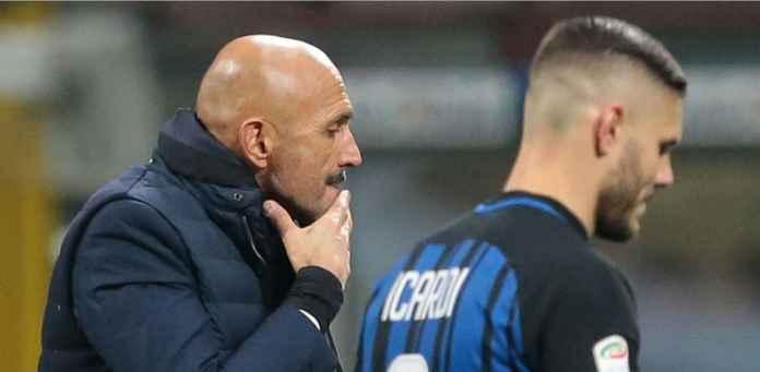 Inter Pusing Strikernya Mendapat Sanksi dari Sang Pelatih