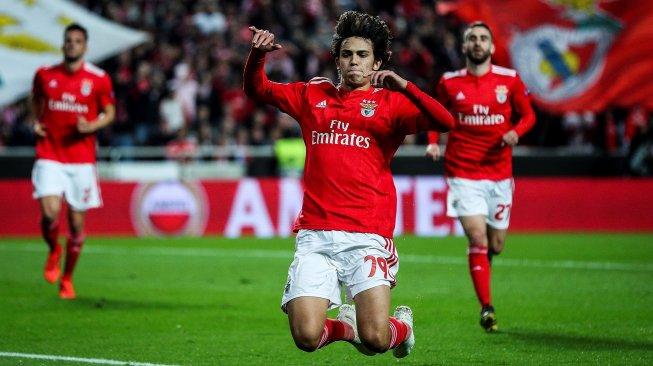Joao Felix Bawa Benfica Raih Kemenangan dengan Mencetak Hattrick