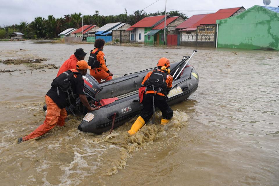 PUPR Membuat Dam di Sentani untuk Merehab Pasca Banjir Bandang