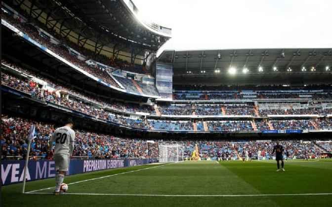 Real Madrid Sekali Lagi Mencatatkan Pencapaian Bangku Kosong
