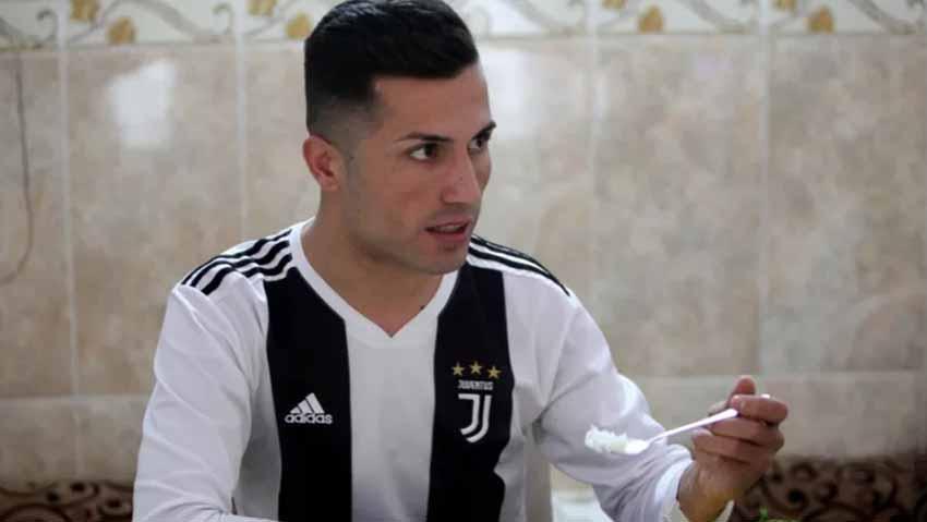 Ronaldo Dibuat Terkejut dengan Pria yang Persis Dirinya di Irak