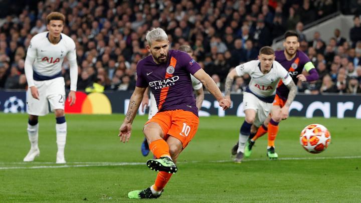 Sergio Aguero Membuang Peluang Mencetak Gol di Markas Tottenham
