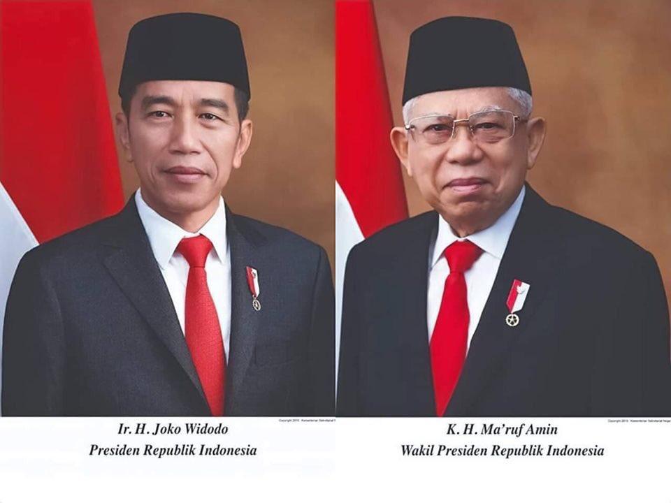 Download Foto Resmi Presiden Jokowi