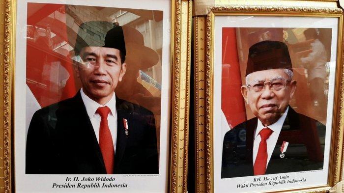 Foto Resmi Presiden Joko Widodo Dan Wakil Presiden Ma Ruf Amin Versi Setneg Bulatin